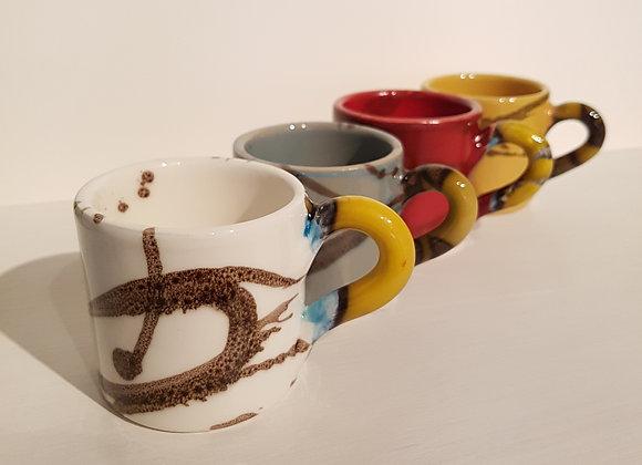 """Coffee mugs """"Linee"""""""