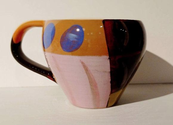 Cup with handle /Tazza con manico, collezione 'Dipingo'