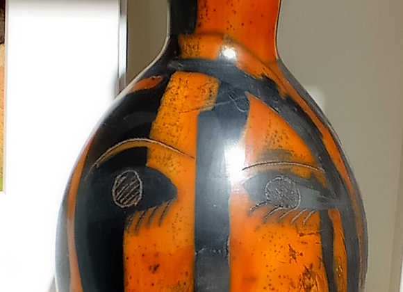 Vase  ' terra sigillata' technique