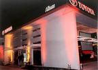 Inauguracion en 2005 de Toyota Alianz San Luis