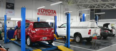 Taller de Posventa Toyota