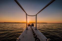 boating pristine waters