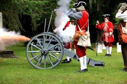 Fort King George Reenactment