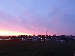 Sunset Over Darien