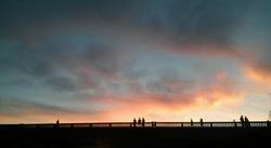 DARIEN BRIDGE SUNSET