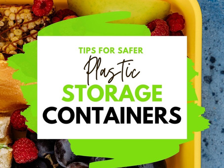 Ditching those plastic containers