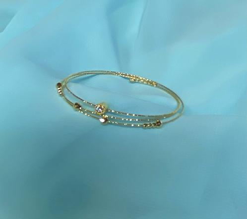 K18 Gold Dia Bracelet