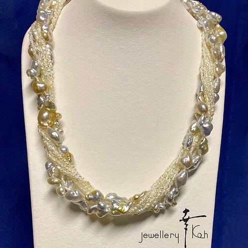 South Sea Natural Pearl & Japanese Natural Pearl Necklaces