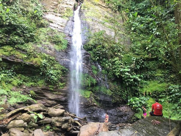 Double Rivers Waterfall, Trinidad