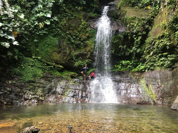 Sombasson Falls, Trinidad