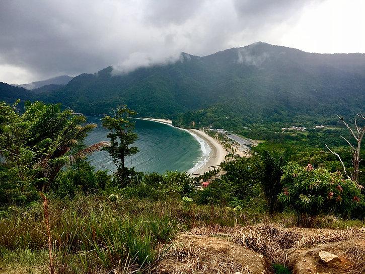 Lookout over Maracas BEach, Trinidad