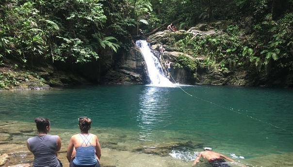 Rio Seco Waterfall, Trinidad