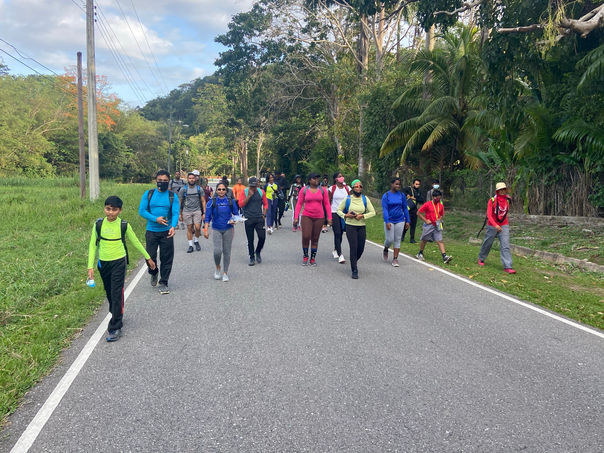 Hiking adventure in Trinidad led by Nature Trekking in T&T