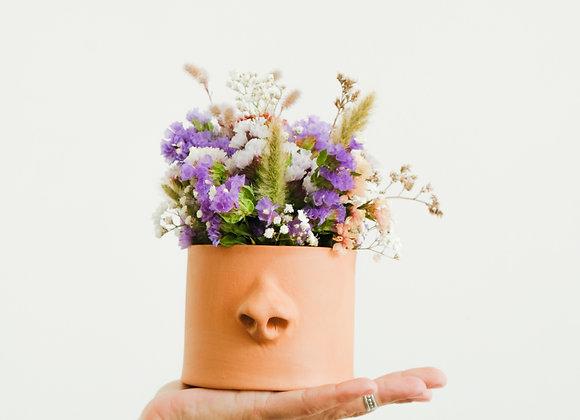 Narigudo Mini com Flores