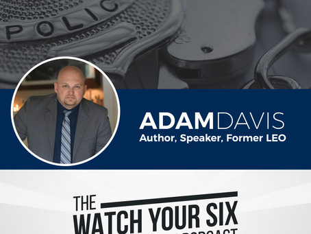 075: Prepare to Be Spiritually Strong with Behind the Badge Author Adam Davis