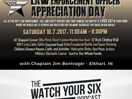 034: The Governor's Proclamation and 23rd Annual Officer Appreciation Day with Chaplain Jim Bont