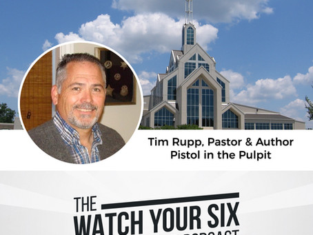 045: How to Approach Church Safety with Pistol in the Pulpit Author Tim Rupp