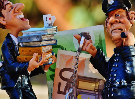 Because Cops Pay Taxes Too...Five Tips for Taking the Stress out of Tax Time