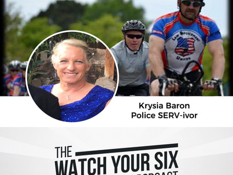 043: From Survivor to SERVivor with Krysia Baron of New Mexico C.O.P.S. (Part 2)