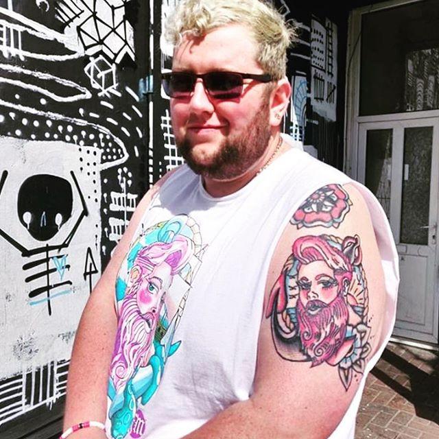 FatMarker Inspired Tattoo