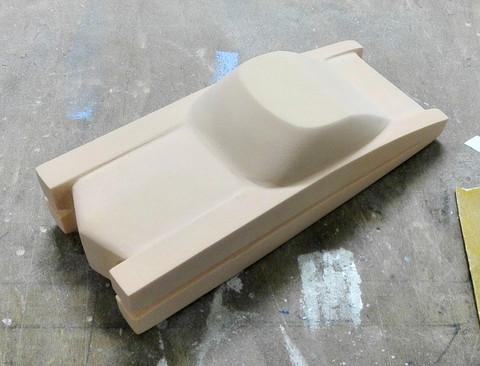 Retrofuturistic flying car - Toy