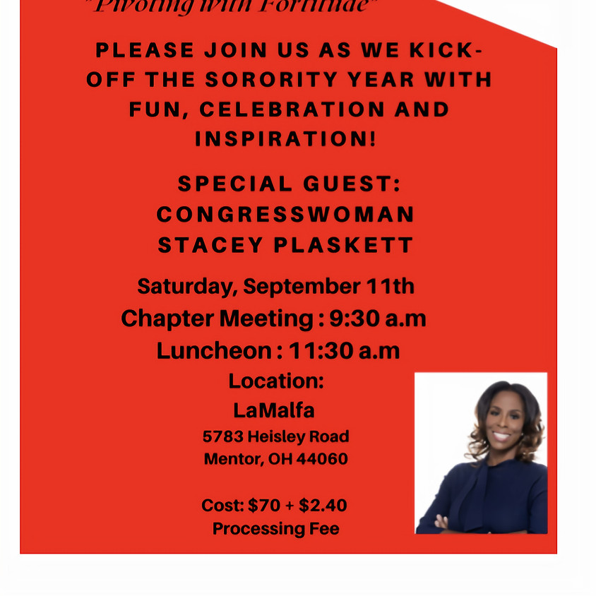 Opening Meeting Luncheon 2021