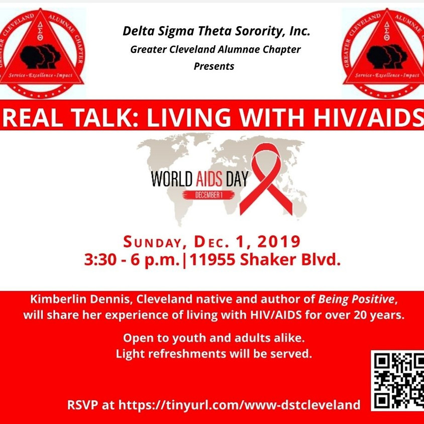 Real Talk: Living With HIV/AIDS
