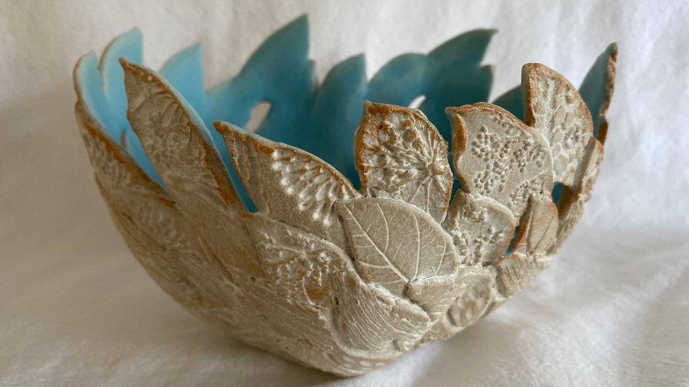 Open leafy vessel.