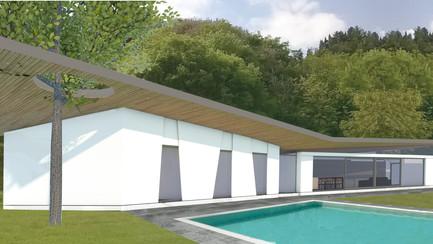 Casa per un aviatore: progetto per una villa di alta qualità.