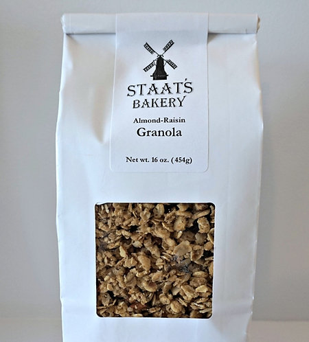 Almond-Raisin Gourmet Granola (16 oz)