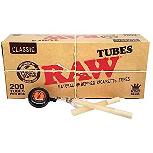 Raw Natural Cigarette Tubes