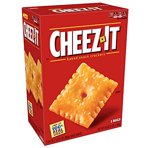 Cheez-it baked snack crackers 3lb 48 oz