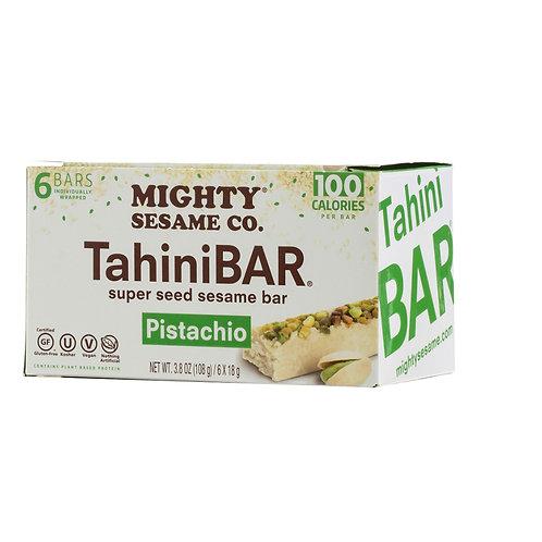 Mighty Sesame Tahini Bars Pistachio
