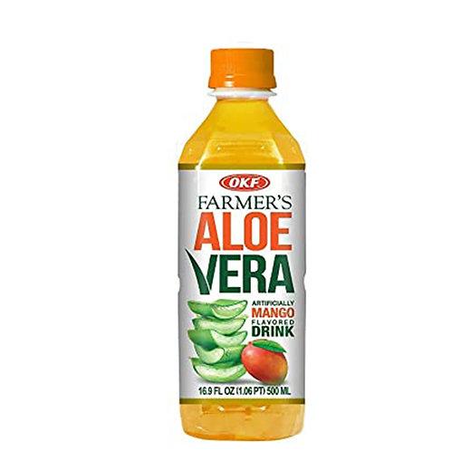OKF Farmer's Aloe Vera Drink: Mango 16.9oz
