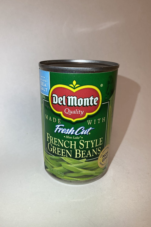 Del Monte French Style Green Beans: Fresh Cut 14.5oz