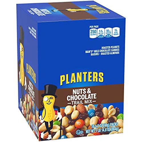 Planters nuts7chocolate trail mix 1.7 oz