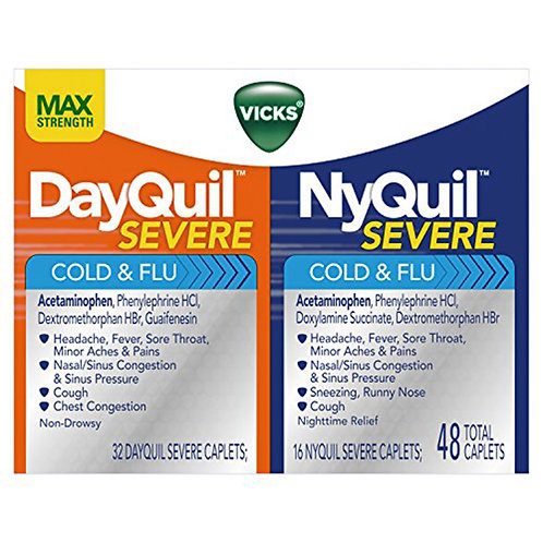 Vicks NyQuil: Severe 2 caplets