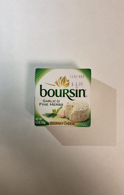 Boursin Gournay Cheese: Garlic & Fine Herbs 5.2oz
