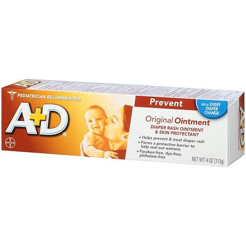 A+D Original Diaper Rash Ointment 4oz