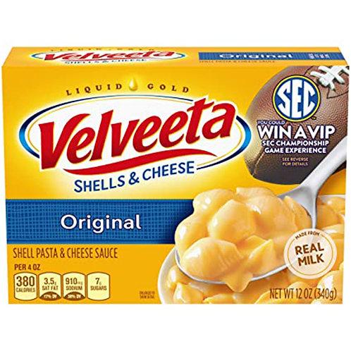Liquid Gold Velveeta shells&cheese Original 12oz