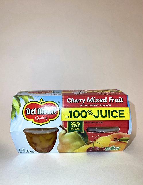 Del Monte Cherry Mixed Fruit, 8 oz