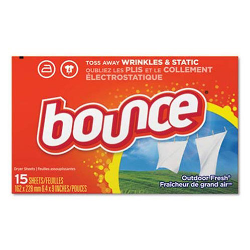 Bounce Fabric Softener Dryer Sheets: Outdoor Fresh 15ct