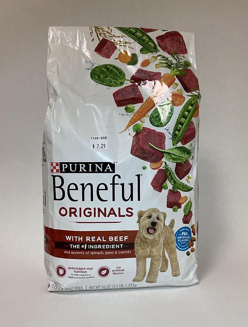 Purina Beneful Originals Real Beef 3.5LB