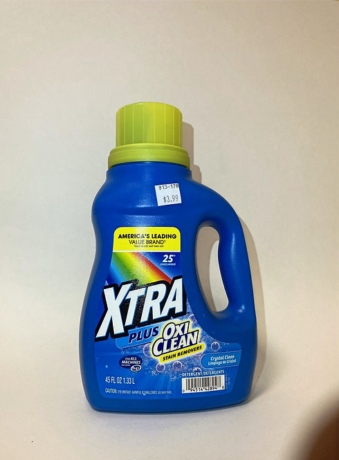 Xtra Plus Oxi Clean Stain Removers 45 Oz