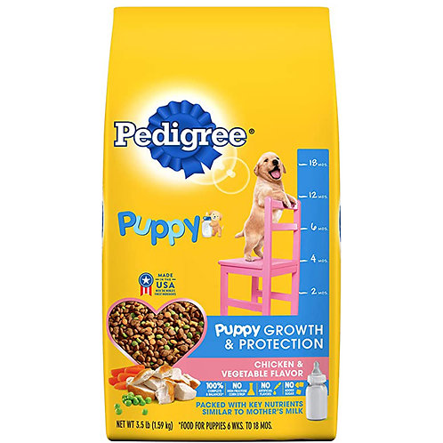 Pedigree Puppy Growth&Protection Chicken&Vegetable Flavor 3.5 LB
