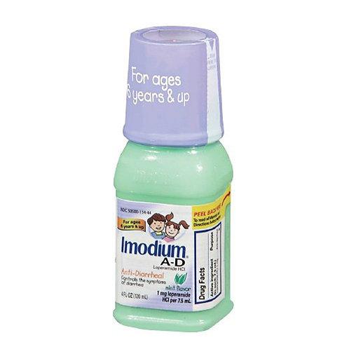 Imodium A-D Mint Flavor 4fl Oz