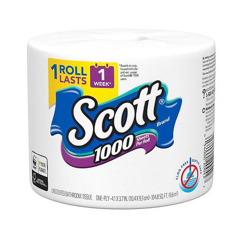 Scott Bathroom Tissue 1000sheets