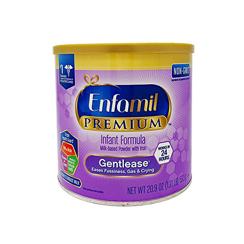Enfamil Premium infant formula Gentlease 20.9oz