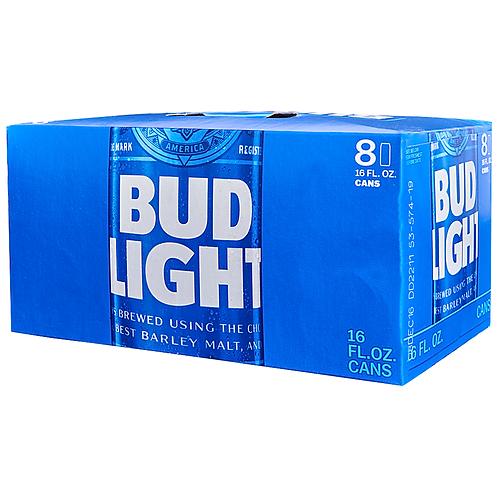 Bud Light: Can 8 oz
