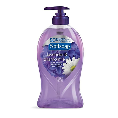 Softsoap Hand Soap: Lavander & Chamomile  11.25oz